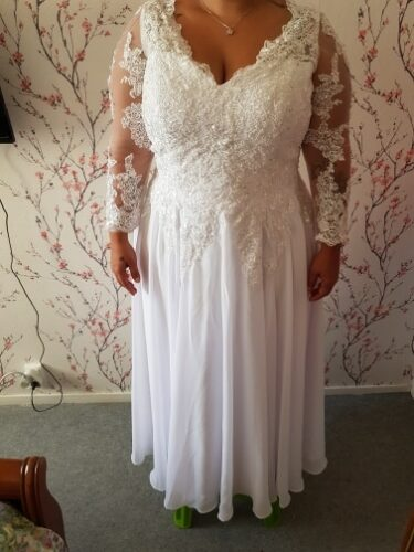 Robe Chic pour Mariage Femme Ronde photo review