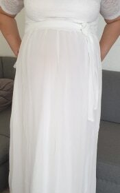 Robe Mariée Femme Ronde Grande Taille photo review