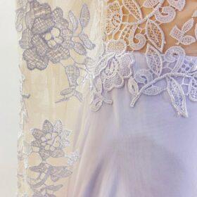 Robe de Mariée Fluide pour Femme Ronde photo review
