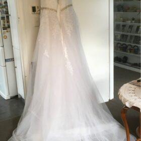 Robe de Mariée pas Cher pour Femme Ronde photo review