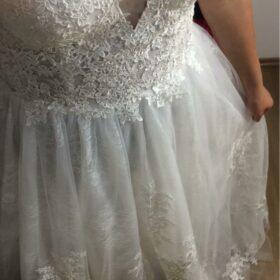 Robe de Mariée Bohème Paysanne photo review