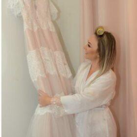 Bohème Robe de Mariée Dentelle Dos Nu photo review
