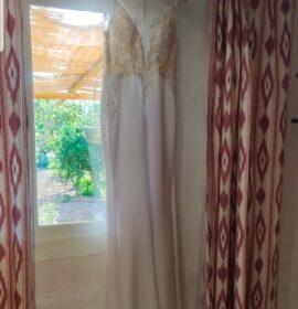 Robe de Mariée Bohème Chic Sirène photo review