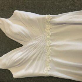Robe de Mariée de Plage avec Col V photo review